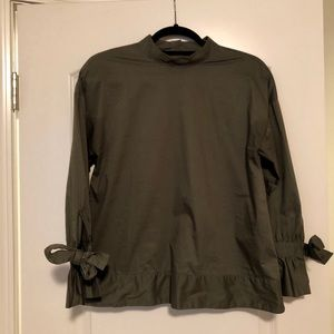 Banana Republic International Exclusive olive top